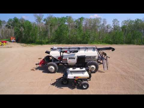 Bourgault Air Seeders - Yesterday & Today