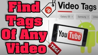 How to || Find Tags || of Any || Youtube Video || on Android || Tubebuddy on android || TechDenny