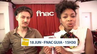 Lucia de Carvalho, showcase nas Fnacs Colombo, Faro, Guia - junho 2017
