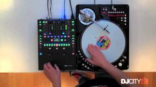 DJ Woody on Vestax's Controller One Turntable (Routine)