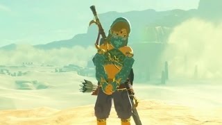TLoZ Breath of the Wild - Link Wearing Girl Clothes