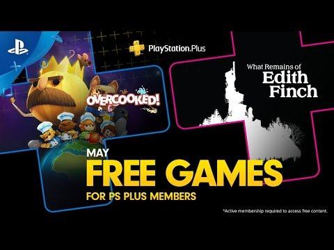 PlayStation Plus - Free Games Lineup May 2019   PS4