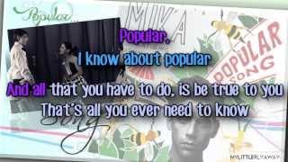 Mika - Popular Song (feat. Ariana Grande) Karaoke/ Instrumental