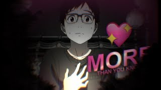 yuri on ice • more than you know {amv}.