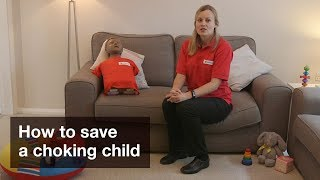Child First Aid: How to save a choking child