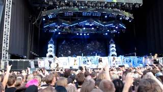 Iron Maiden - Hallowed Be Thy Name (clip) Live 2011 Helsinki, Finland (HD) Great Quality