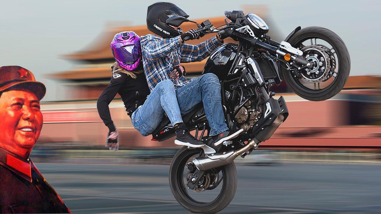Best Chinese 300cc Bike Stunts