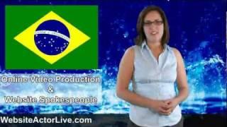 Portuguese Spokes Model - Live Website Actor