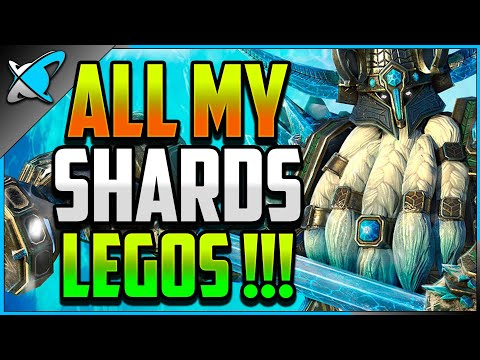 ALL MY VOID SHARDS !! | It's Raining LEGOS & Coldhearts !!! | RAID: Shadow Legends