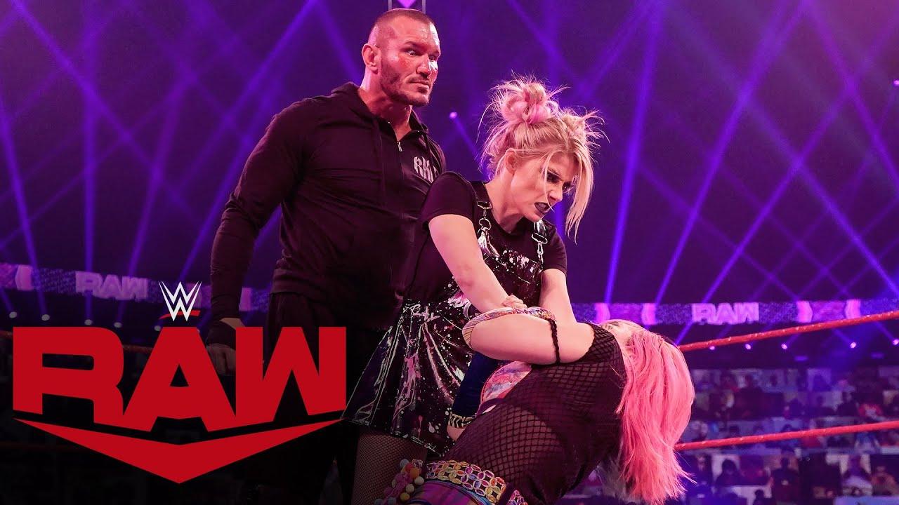 WWE - Asuka vs. Alexa Bliss – Raw Women's Championship Match: Raw, Jan. 25, 2021