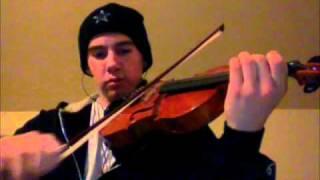 Blow (Violin Cover) - Ke$ha - Nathan Hutson