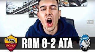 LA DEA FA CALCIO! PAPU DA DIO! | Roma-Atalanta 0-2