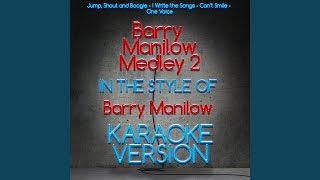 Barry Manilow Medley 2 (Karaoke Version)