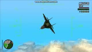 Mikoyan MiG-29 North Korean Air force - GTA San Andreas 720p