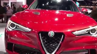 First Look at Alfa Romeo's First SUV! // 2018 Alfa Romeo Stelvio - (LA Auto Show 2016 #21)