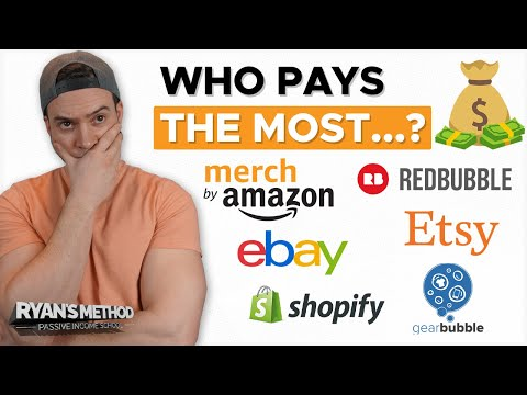 Which print on demand site pays the most?