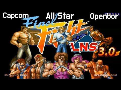 Openbor)파이널 파이트,스트리트 파이터 올스타버전 Final Fight Capcom All Star C…