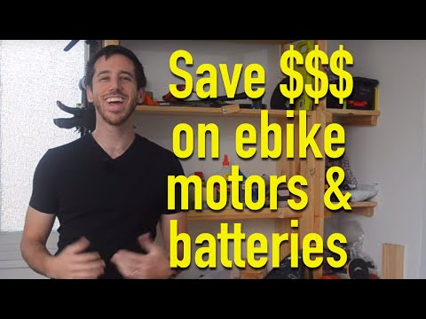 Save money on e-bike batteries, motors and more on 11.11!