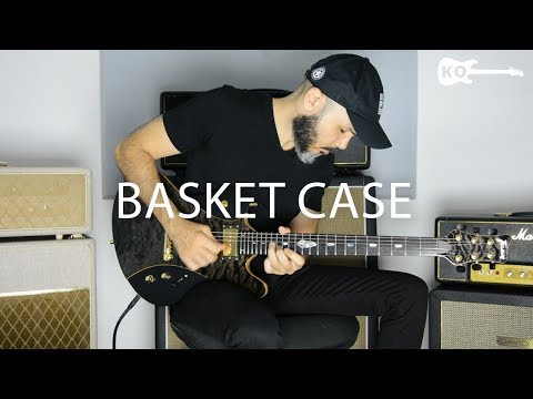 Green Day – Basket Case – Electric Guitar Cover by Kfir Ochaion