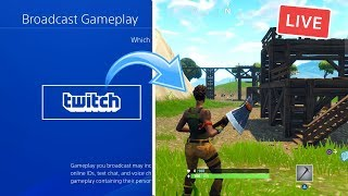 How to START A TWITCH CHANNEL ON PS4! (BECOME A STREAMER)