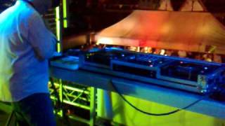 Mark van Dale live @ van Heeckeren bij Roggefeest 07-08-09 Ameland