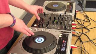 Kasabian Underdog - Beat Juggle & Scratch Routine (DJ Sam Flanagan)