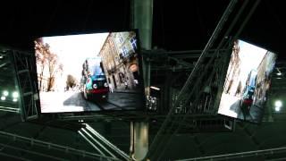 EURO 2012: Oceana - Endless Summer on National Stadium in Warsaw