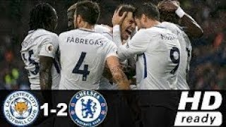 Leicester City vs Chelsea 1-2 Highlights & Goals - Premier League 09 Sep 2017 width=