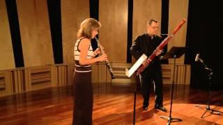 Heitor Villa-Lobos: Duo (1957) pour hautbois et bassoon; I. Allegro