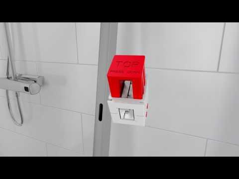 IDO Showerama 10 -tuotteiden asennus