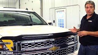 How to Install AVS Bugflector 2 Bug Shield on a Chevrolet Silverado
