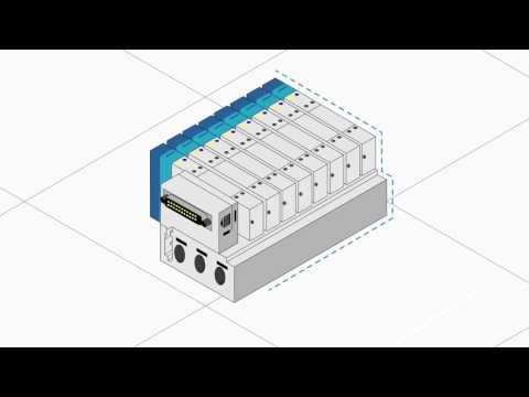 SMCs SY 3000-7000 Valve Series provides complete control and flexibility