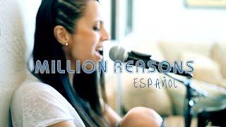 Lady Gaga Cover en Español Million Reasons de Mayré Martínez (spanish version)