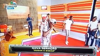 Nova Geração na TV ZIMBO no programa Made in Angola.