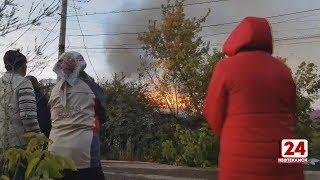 2 пожара за один день. Очередной поджог и в Касево сгорел дом