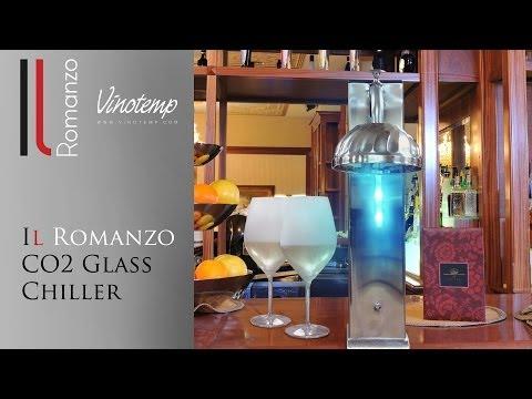 Vinotemp's Il Romanzo CO2 Glass Chiller