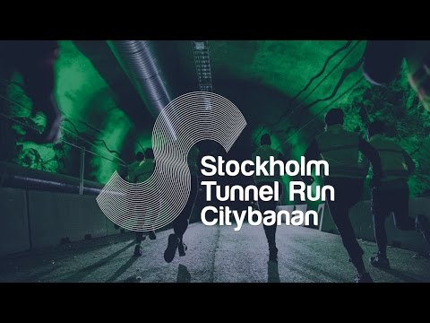 Stockholm Tunnel Run Citybanan 25 mars 2017