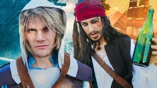 Assassin's Creed 4 Black Flag - THE MUSICAL (feat. Jack Sparrow)