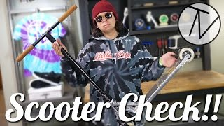 Walter Perez Scooter Check!! │ The Vault Pro Scooters