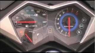 test kymco 125 dink