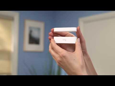 Z Wave Ring Z Wave Plus Door Window Contact Sensor 2 Pack