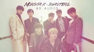 Monsta X (몬스타엑스) - Beautiful (아름다워)  [8D AUDIO] [USE HEADPHONES]