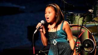 My Heart Will Go On (A Capella live) - Celine Dion Titanic 2 cover  - 9 y/o Dominique Dy