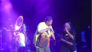 """The Roots De La Soul Yasiin Bey """"Ego Trippin"""" @ The Roots Picnic 2012"""