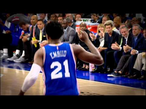 NBA Rooks: Embiid Starting the Process