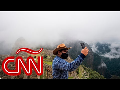 Machu Picchu reabrió y se podrá visitar usando mascarilla