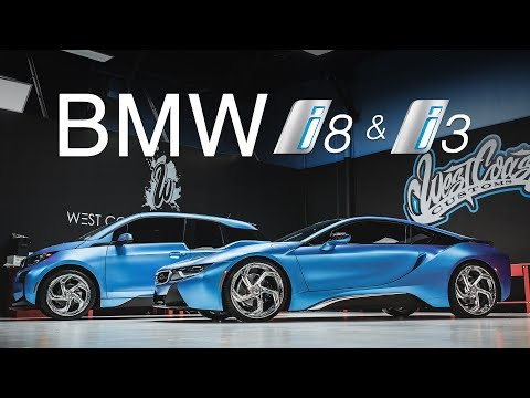 TWIN Matte BMW i8 AND i3 Lexani Wheels (West Coast Customs)
