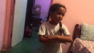 Irmã Dançando Anitta - Show das poderosas