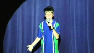 Pale Kid Raps Fast Cover- 2012 CHS Talent Show