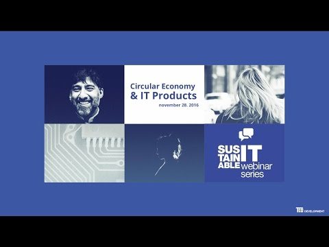 Webinar: Circular Economy and IT Products